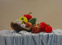 Realismus, Stillleben, Ölmalerei, Malerei