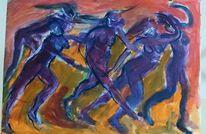 Malerei, Lauf
