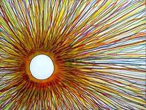 Sonne, Korona, Durcheinander, Malerei