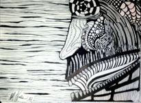 Tinte, Schwarz weiß, Weiß, Zeichnungen