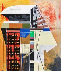 Futurismus, Acrylmalerei, Avantgarde, Zeitgenössisch