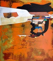 Abstrakt list, Universum, Gemälde, Zeitgenössisch