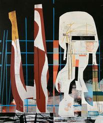 Avantgarde, Futurismus, Acrylmalerei, Technologie