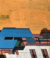Zeitgenössisch, Gemälde, Modern, Rätsel