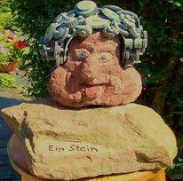 Einstein, Plastik, Stein