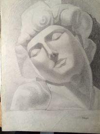 Pappe, Zeichnung, Nero, Rom
