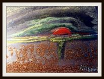 Acrylmalerei, Fotografie, 11891072, Blau