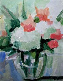 Blumen, Acrylmalerei, Malerei