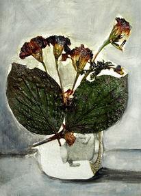 Acrylmalerei, Malerei, Blumen