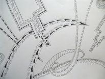 Rechteck, Pfeil, Ornament, Zeichnungen
