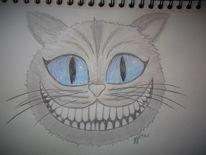 Grinsekatze, Alice im wunderland, Katze, Zeichnungen