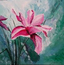 Blüte, Grün, Blumen, Pink