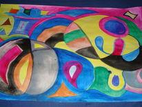 Gouachemalerei, Malerei