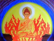 Erleuchtung, Buddhismus, Buddha, Mythologie