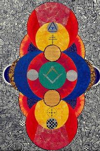 Mandala, Freimaurer, Symbol, Loge