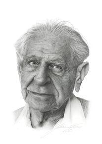 Figural, Zeichnung, Popper, Portrait