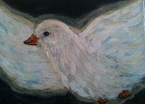Vogel, Taube, Geist, Malerei