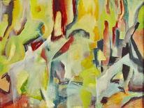 Acrylmalerei, 2014, Abstrakt, Malerei