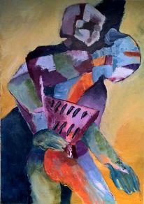 Acrylmalerei, Malen, Farbenfreudig, Malerei