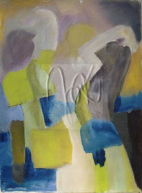 Menschen, Tanz, Bewegung, Malerei