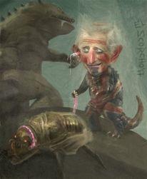 Hund, Godzilla, Insekten, Babay