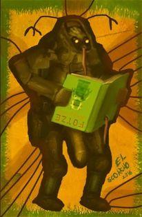 Apokalypse, Sexualität, Comic, Roboter