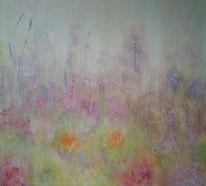 Wärme, Farben, Blumen, Feld