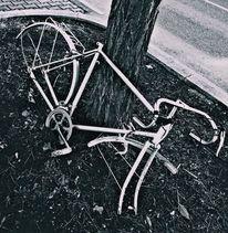 Natur, Fahrrad, Kaputt, Fotografie