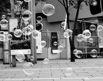 Straße, Seifenblasen, Fotografie