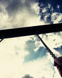 Wolken, Herz, Schaukel, Fotografie