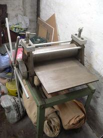 Tiefdruckpresse verkauf, Pinnwand