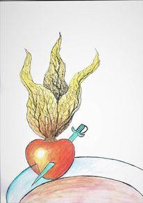 Gefühl, Andenbeere, Obst, Liebe