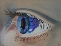 Schwarz, Pupille, Augen, Kaffee