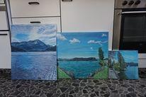 Wasser, Ort, Magie, Malerei
