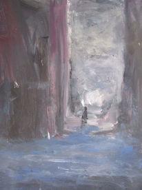 Tür, Wasser, Malerei