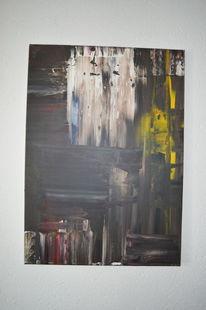 Acrylmalerei, Abstrakt, Spachtel, Malerei