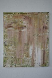 Acrylmalerei, Rakeltechnik, Malerei,