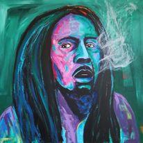 Rauchen, Sage, Bob marley, Malerei