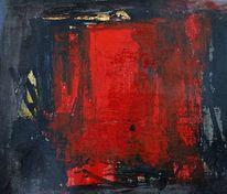 Malerei, Abstrakt, Farben, Vorhang