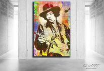Streetart, Digitale kunst, Bunt, Menschen