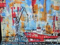 Industrie, Hamburg, Maritim, Hafen