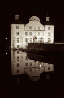 Schloss, Wasser, Nacht, Fotografie