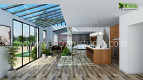 Wohnung, Animation, Wohnzimmer, 3d