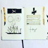 Mischtechnik, Mystik, Surreal, Symbol
