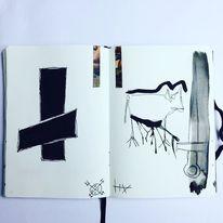 Surreal, Malerei, Mystik, Mischtechnik