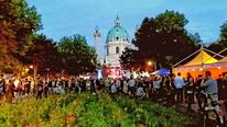 Wien, Karlskirche, 1 bezirk, Fotografie