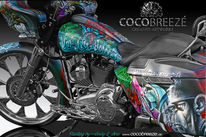 Custompainting, Deutschland, Cocobreeze, Graffitiartist