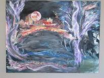 Höhle, Bewegung, Flucht, Malerei