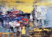 Gemälde abstrakt, Moderne malerei, Acrylmalerei, Abstrakte malerei