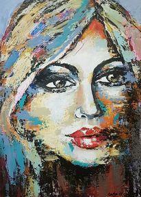 Abstrakte malerei, Abstrakte kunst, Zeitgenössische malerei, Acrylmalerei